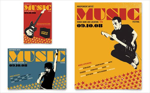 music festival event flyer1