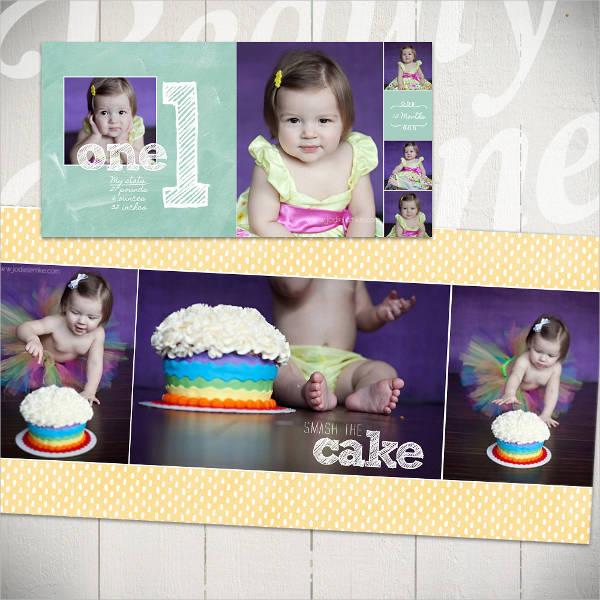 my baby photo album
