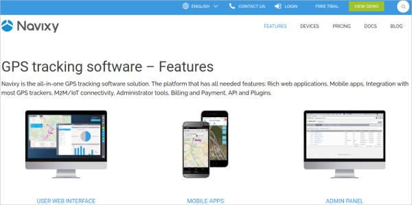 navixy most popular software