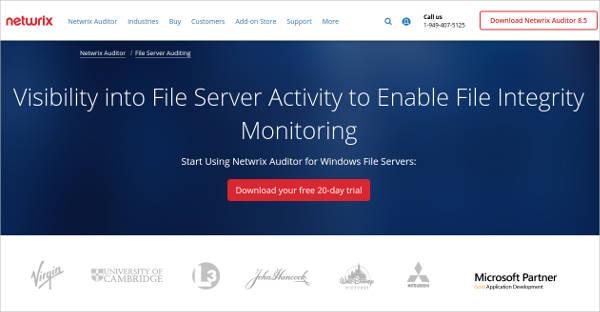 netwrix auditor for windows