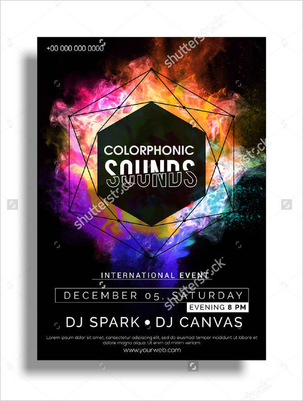 night club event flyer1