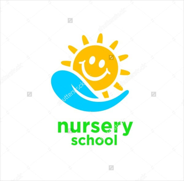 nursery school logo design