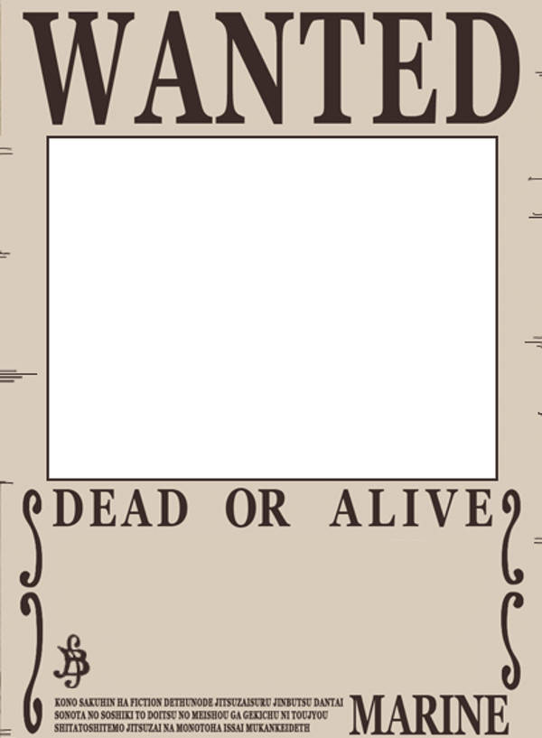 30 Downloadable Wanted Posters – Sample Wanted Poster