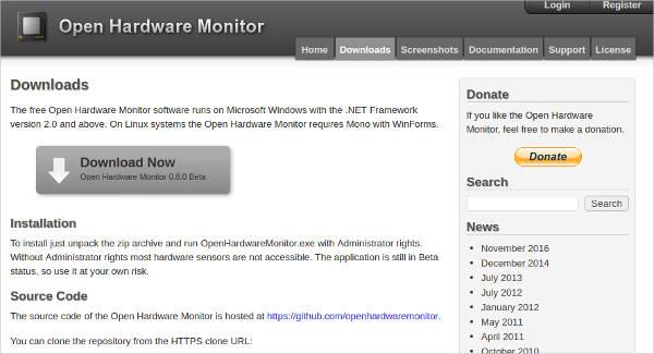 open hardware monitor1