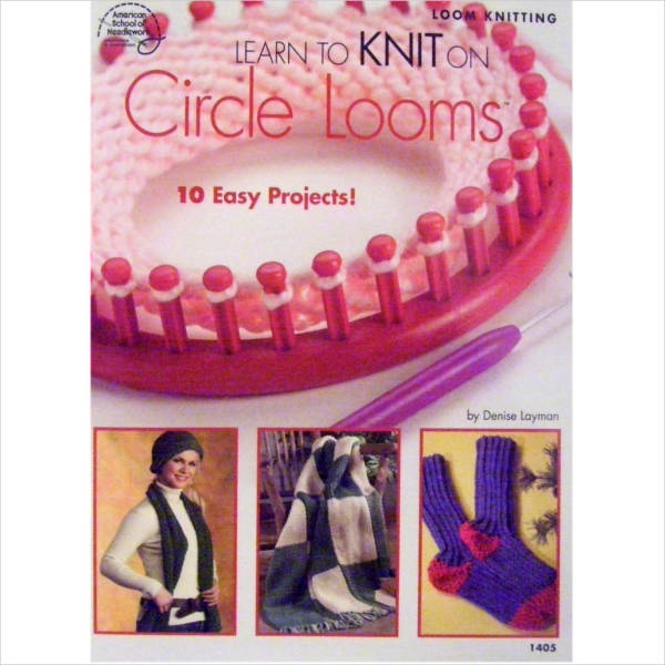 psd circle loom knitting patterns