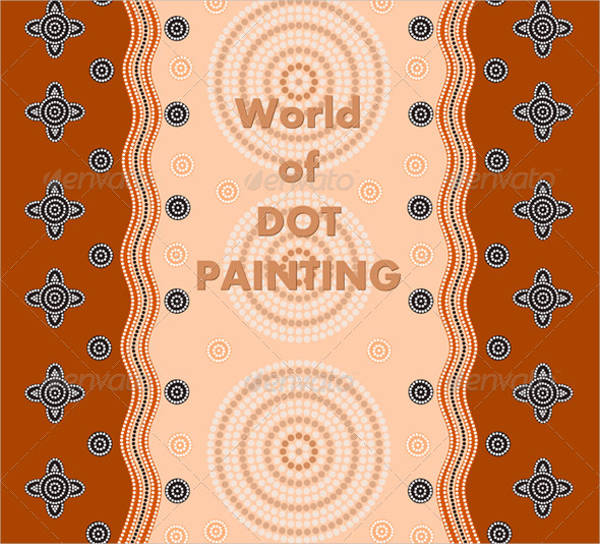 psd dot painting patterns