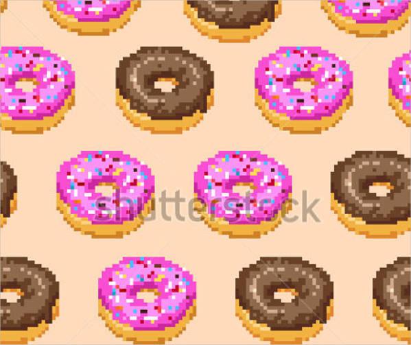 psd pixel bread pattern