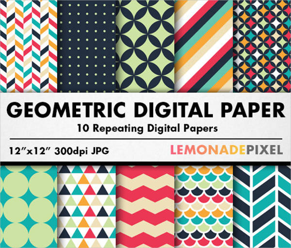 psd repeating geometric patterns