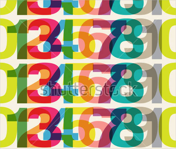 psd repeating number patterns