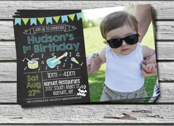 photo birthday party invitation templates