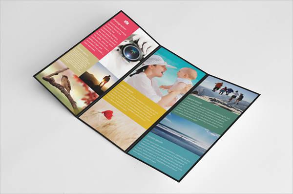photography tri fold brochure