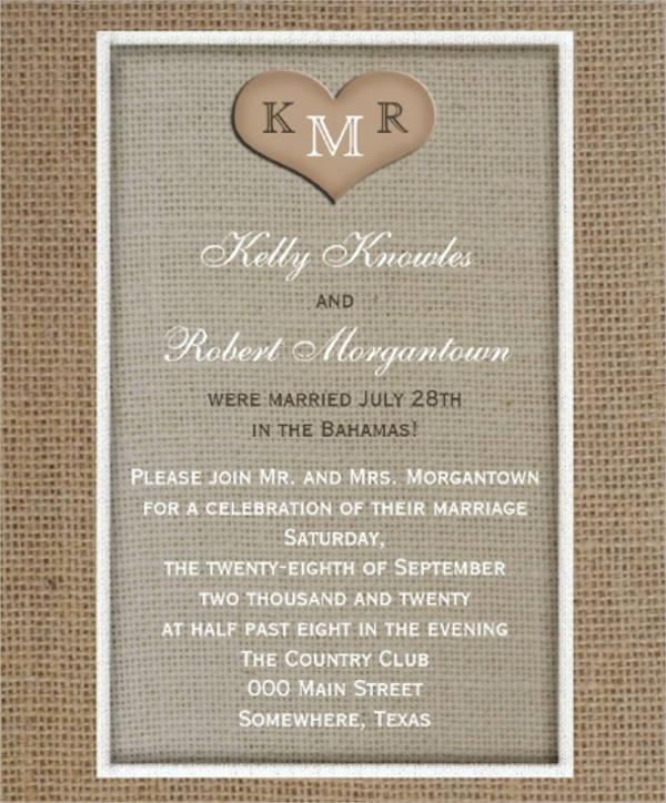 post wedding reception invitations1
