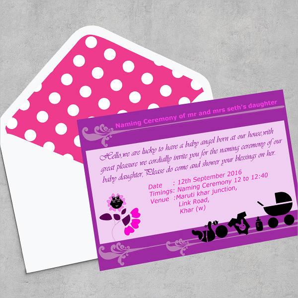 print ready naming ceremony invitation