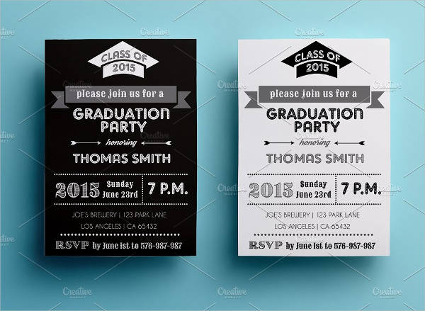 printable graduation party invitation2