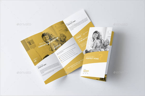 real estate business brochure