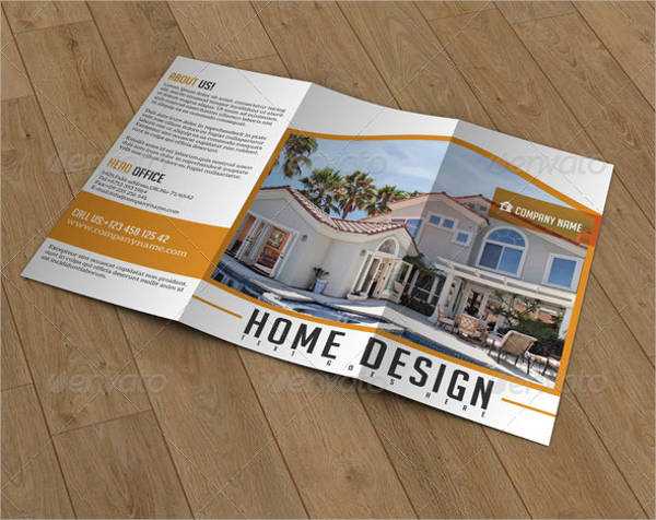 real estate company catalog brochure