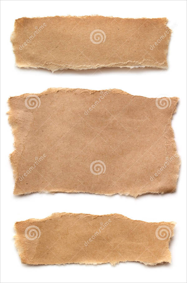 ripped brown paper texture