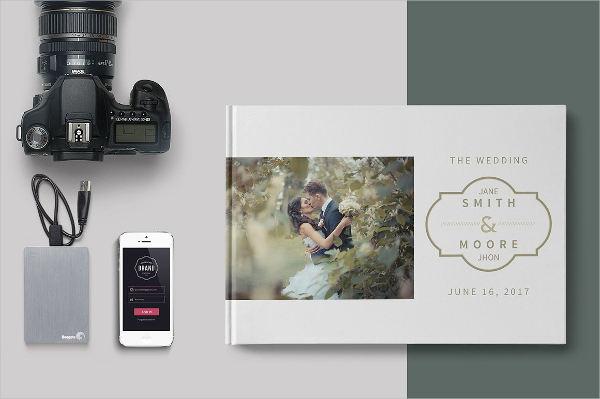 romantic wedding album3