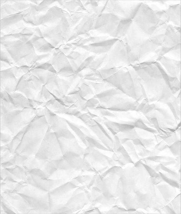 rough blank crumpled paper texture