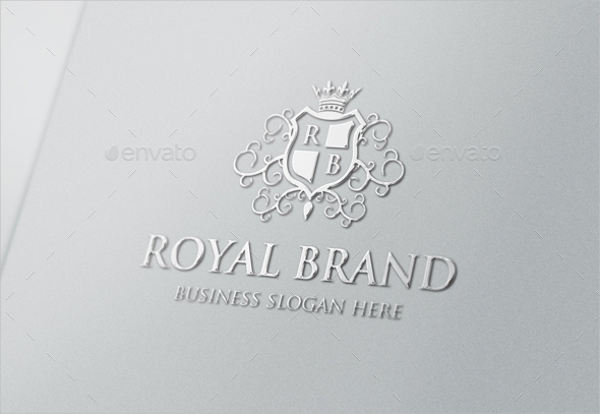 royal and elegant logo vector design
