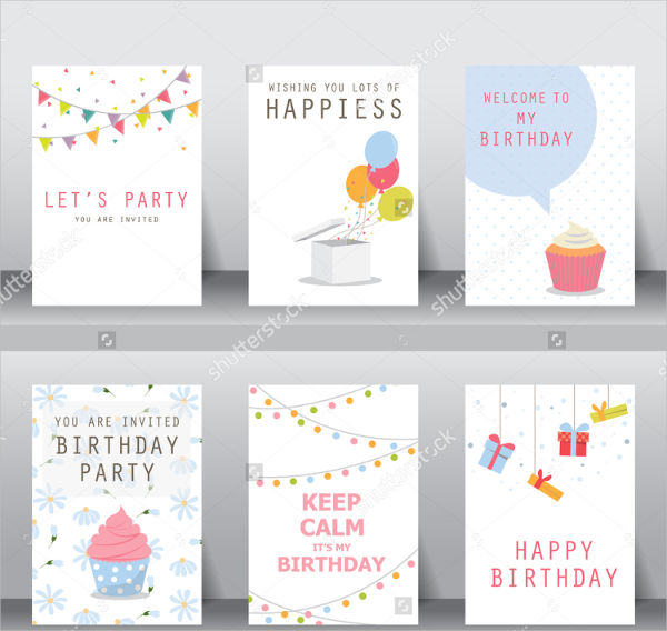sample birthday invitation card template