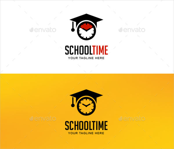 sample school logo design