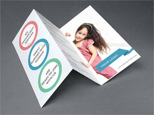 school education tri fold brochure