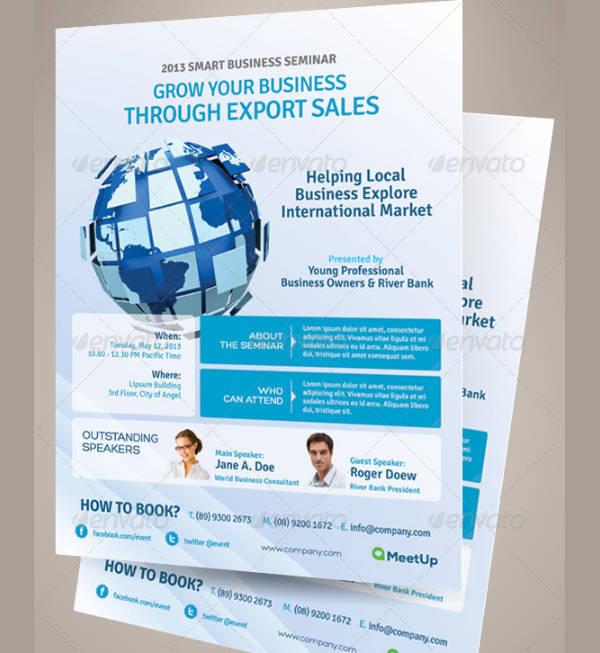 seminar business event