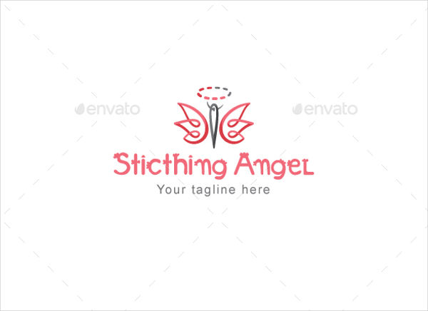 sewing stitch logo