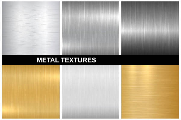 silver and gold polished metal texture