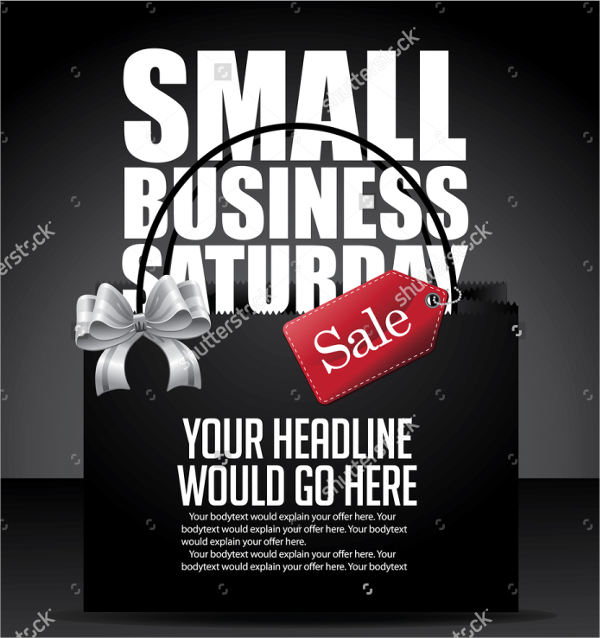 small business advertising poster