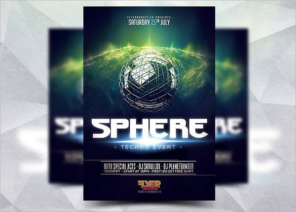 sphere club event flyer1