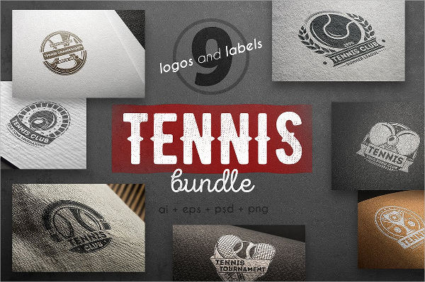 tennis club logo designs