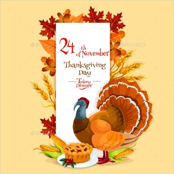 thanksgiving day invitation cards