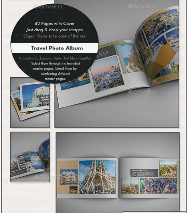 travel photo album template1