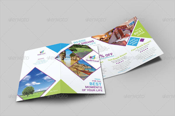 travel and tourism brochure