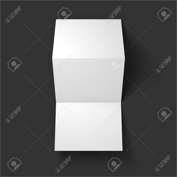tri fold 3d mock up pack1