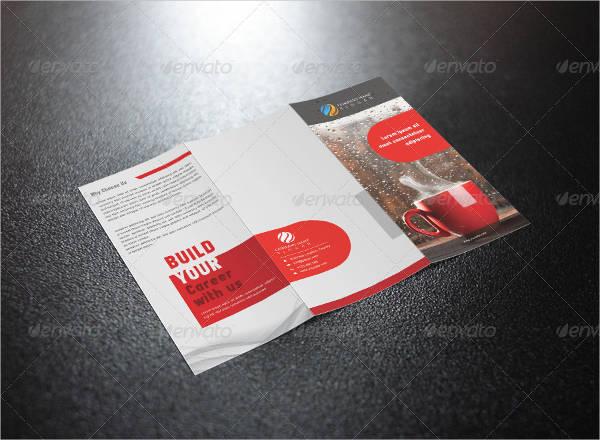 tri fold brochure design template