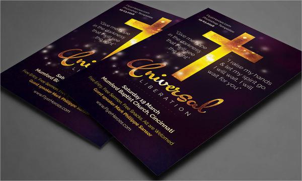 universal liberation church flyer