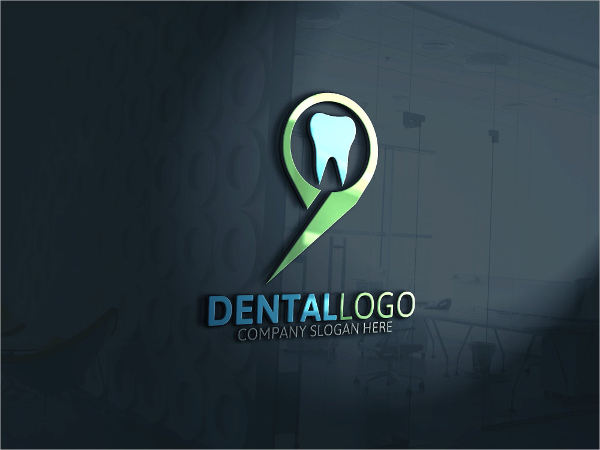 vector dental logo design