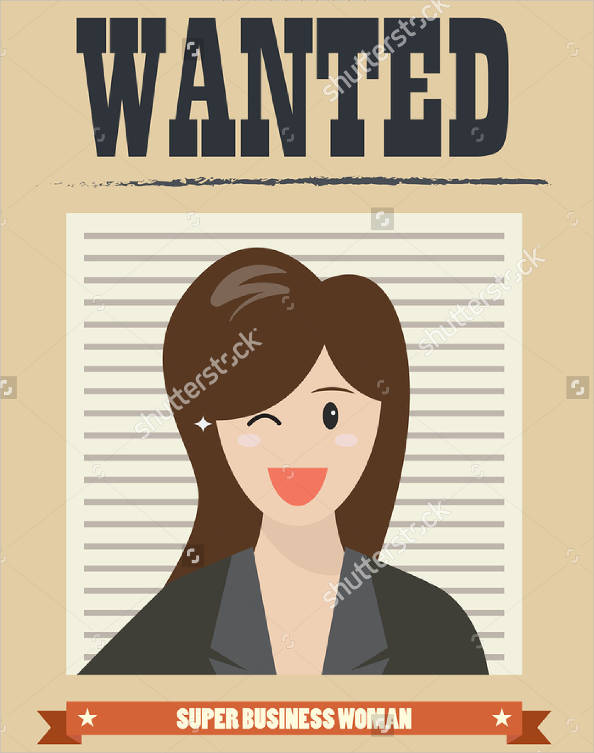 vintage job wanted poster