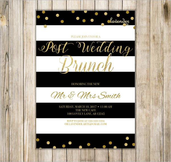 wedding brunch reception invitations1