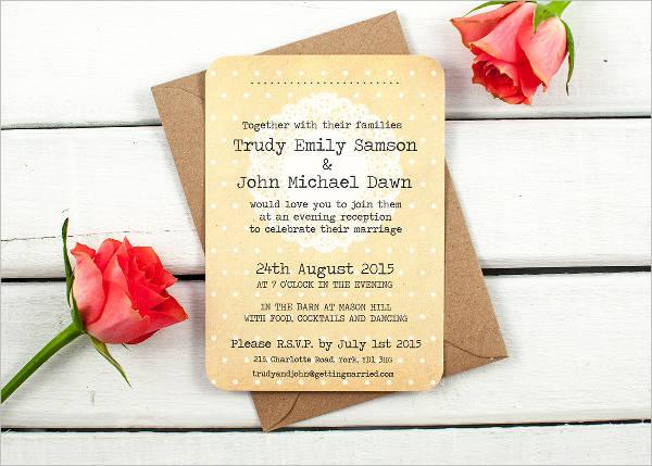 wedding evening reception invitations1