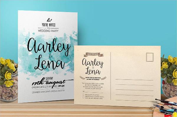 wedding event invitation wording