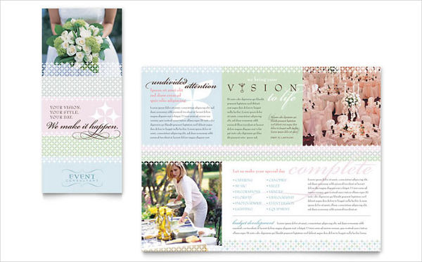 wedding event planning brochure2