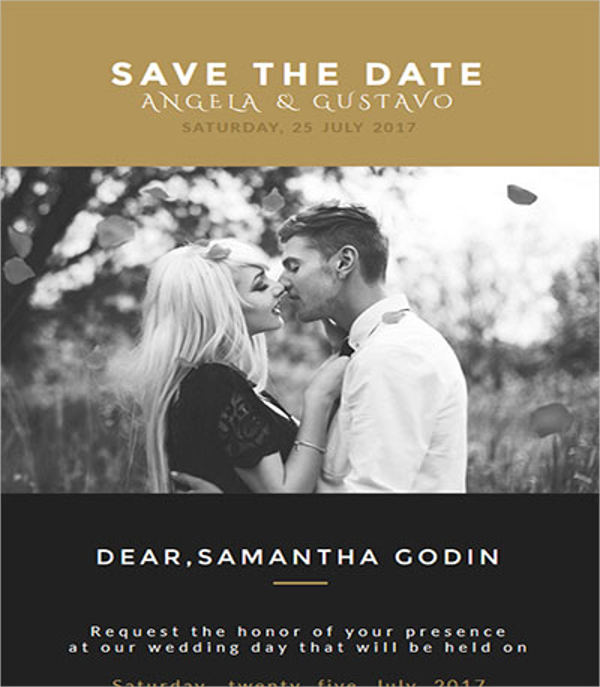 wedding invitation card email template