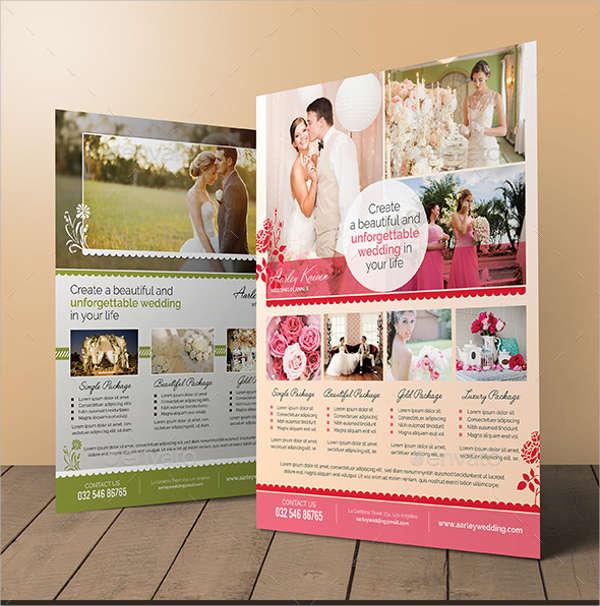 wedding planner event flyer1