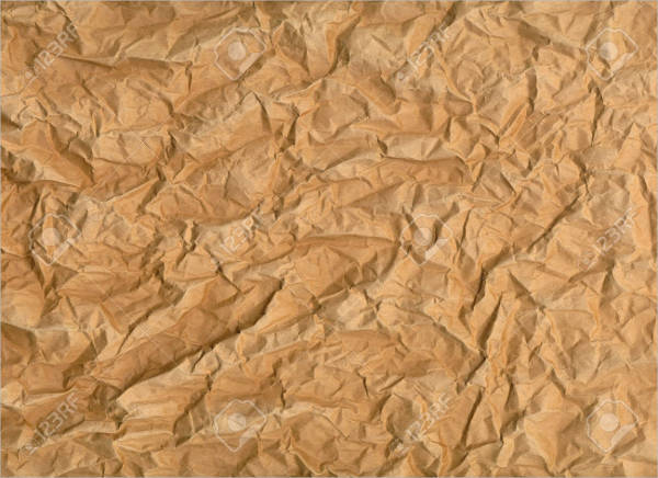 wrinkled brown paper texture