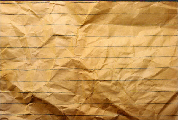 wrinkled notebook paper texture