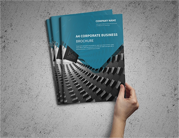 a4 corporate business template